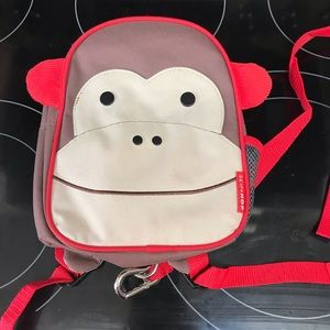 Skip Hop - toddler harness Monkey backpack